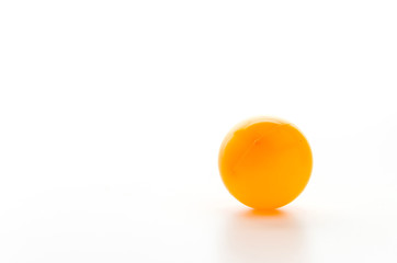 Color ball isolated white background
