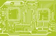 Green Circuit Board Background