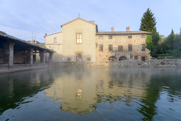 Thermal pools of Bagno Vignoni
