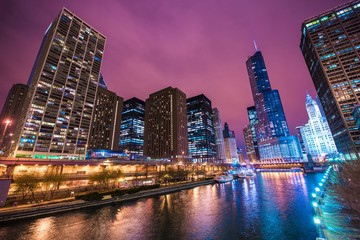 Chicago River Reflections