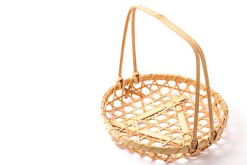 basket made of bamboo