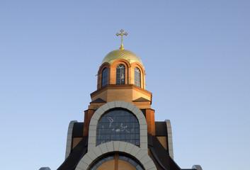 Christian church dome