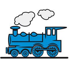 Zug Eisenbahn Dampflok
