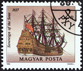 Sovereign of the Seas, 1637 (Hungary 1988)