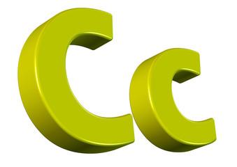sarı c harfi