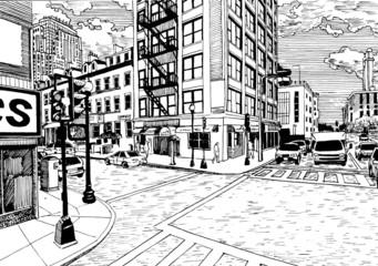 Boston Chinatown street