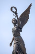 Leinwanddruck Bild - Part of monument to the Goddess of victory Nike.