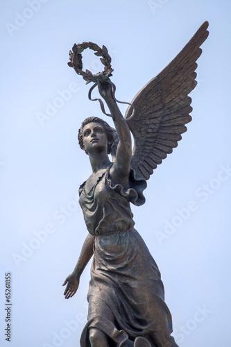 Leinwanddruck Bild Part of monument to the Goddess of victory Nike.