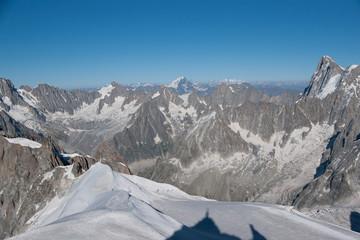 Alps mountain in summer