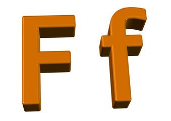 kahve renkli f tasarımı