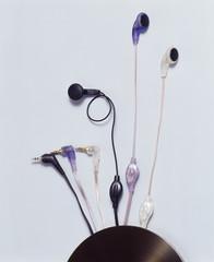 The image of earphone