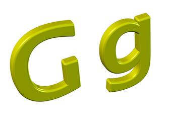 sarı g harfi