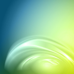 Blue green abstract background