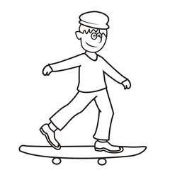 skateboarder-coloring book