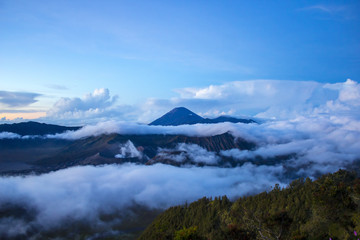 Bromo Mountain in Tengger Semeru National Park