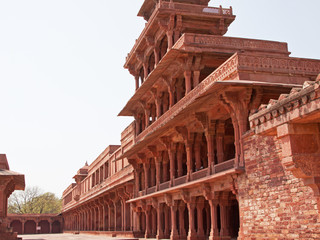 The abandoned16th century city of Fatehpur Sikri, Rajasthan