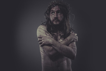 jesus christ, jesus of nazareth, representation of Calvary