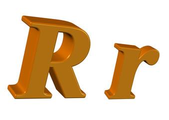 kahve renkli R