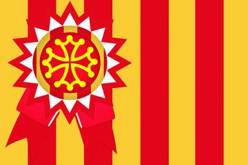 Languedoc Roussillon  -  Emblème  Certification