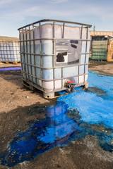 Vertido De Residuos Químicos