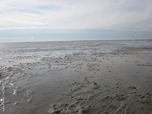 canvas print picture Wattenmeer