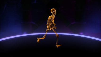 Xray running skeleton Loop