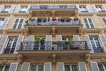 Paris, France. Typical architectural details
