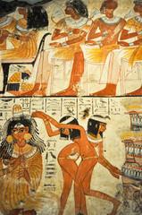 affreschi egizi