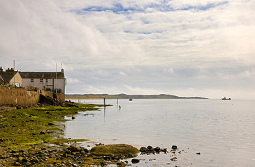 View of Ravenglass shoreline