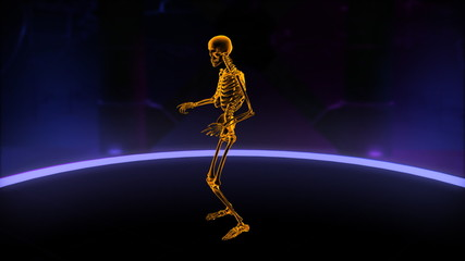 Xray dancing skeleton Loop