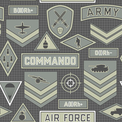 seamless military pattern 10