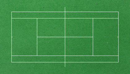 tennis court background paper