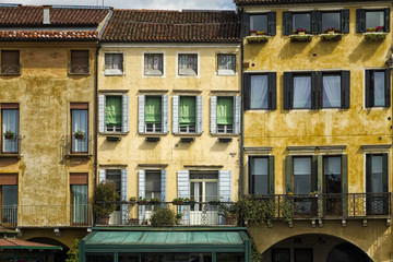 Traditional and Colorful Italian Buildings