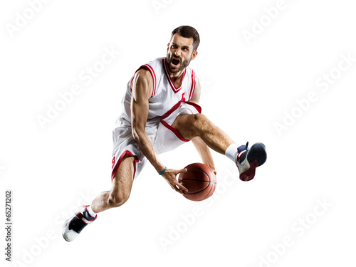 Plagát basketball player