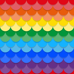 Scales rainbow seamless texture