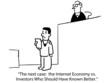Case: Internet Economy vs Investors Who Know Better