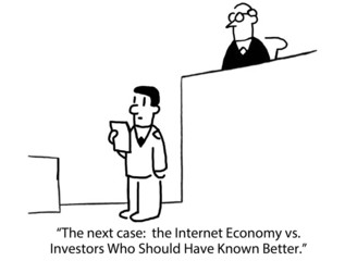 Case: Internet Economy vs Investors Who Know Better