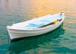 Beautiful small fishing boat in Nafplio town in Greece