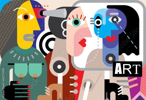 Abstract Art - 65275096