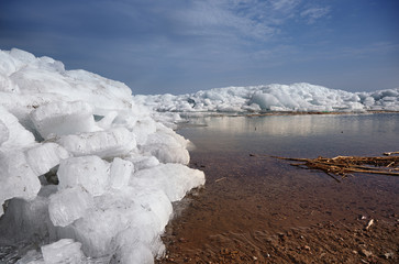 Ice hummock in Arctic