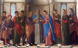 Venice - Wedding of Mary in st. Martin church - Burano