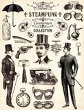 Steampunk gentlemen collection