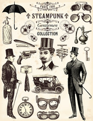 Steampunk gentlemen collection