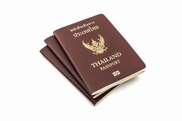 Thailand passport.