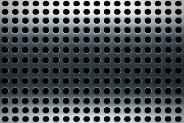 perforated stainless steel texture