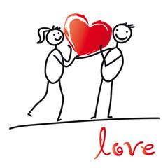 Herzenssache - Verliebtes Paar
