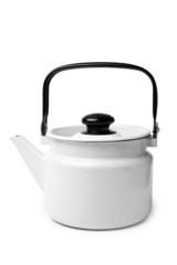 Enameled kettle