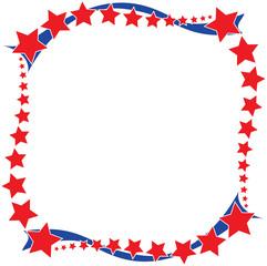 Stars and Stripes Border