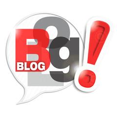 bulle mosaïque lettres : blog