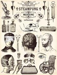 Steampunk Collection Médecine